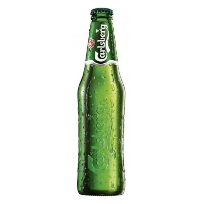 Bouteille de bière CARLSBERG CLUB 5°