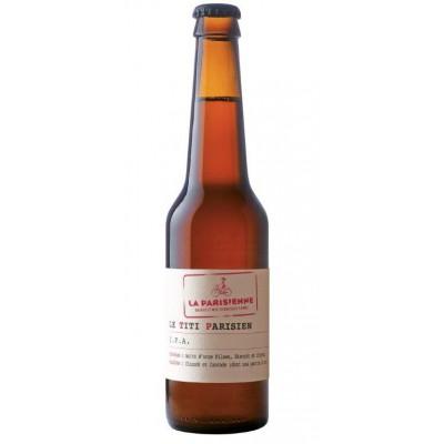 Bouteille de bière TITI PARISIEN IPA 5.5° VP33CL