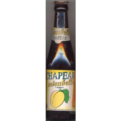 Bouteille de bière CHAPEAU MIRABELLE 3.5°