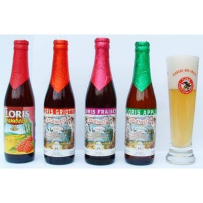 Bouteille de bière FLORIS BEER CHOCOLAT