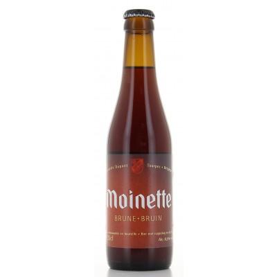 Bouteille de bière La Moinette Brune 8,5°