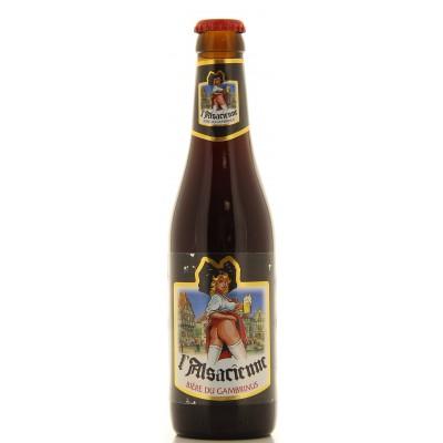 Bouteille de bière ALSACIENNE BRUNE 7.8°