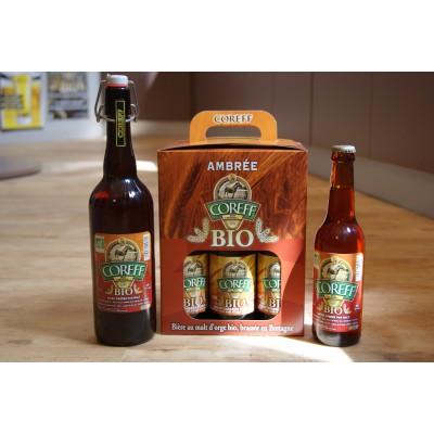 Bouteille de bière COREFF BIO AMBREE 5°