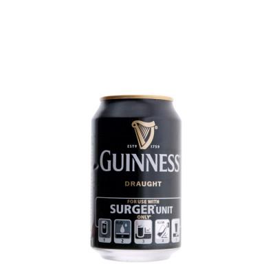 Canette de bière Guinness SURGER (boite) (Bière)