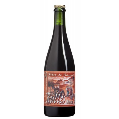 Bouteille de bière RULLES BRUNE 6,5°