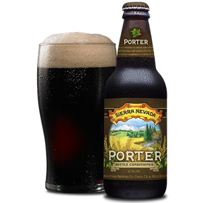 Bouteille de bière SIERRA NEVADA PORTER 5.6°