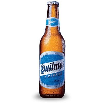 Bouteille de bière QUILMES 4.9°