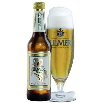 Bouteille de bière ULMER KELLER N°5 5,5° X 24