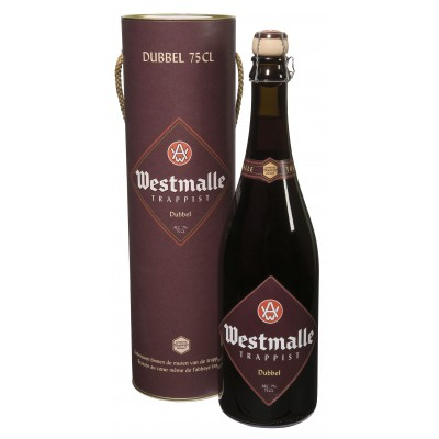 Bouteille de bière WESTMALLE DOUBLE 7°