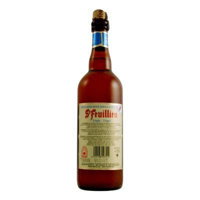 Bouteille de bière ST FEUILLIEN TRIPLE 8.5°