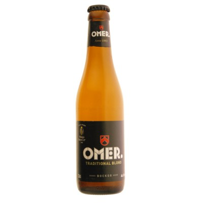 Bière belge OMER. traditional blond en 33cl
