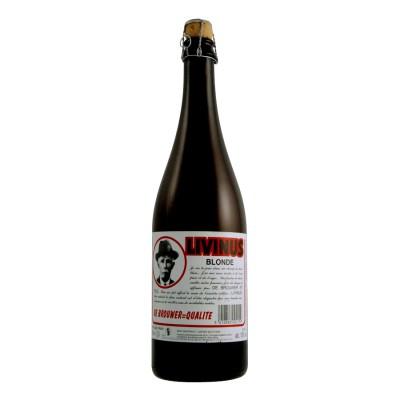 Bouteille de bière LIVINUS BLONDE 10°