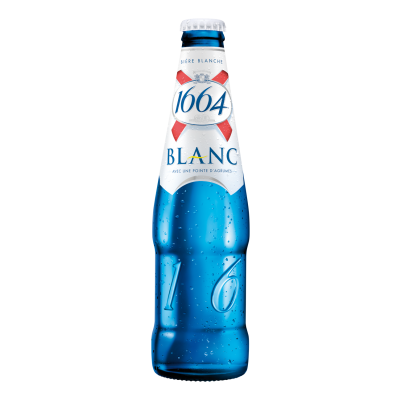 Bouteille de bière 1664 BLANC KRO 5°