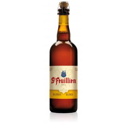 Bouteille de bière ST FEUILLIEN BLONDE 7.5°
