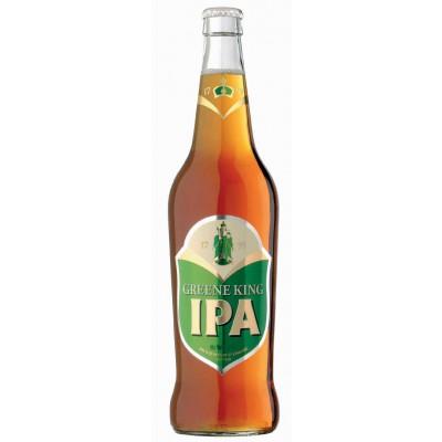 Bouteille de bière GREEN KING IPA 5°