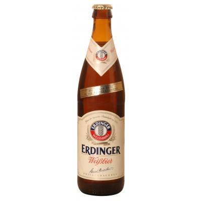 Bouteille de bière ERDINGER HEFE WEISSBIER 5.3°