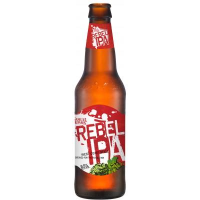 Bouteille de bière SAMUEL ADAMS REBEL IPA 6.5° VP35,5