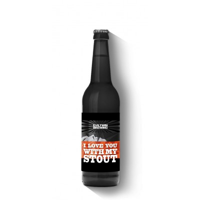 Bouteille de bière EVILTWIN I LOVE YOU WITH MY STOUT 12° VP35.5CL