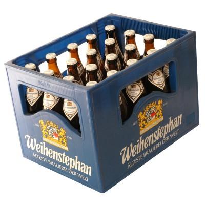 Bouteille de bière WEIHENSTEPHAN KRISTL 5.4°
