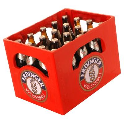 Bouteille de bière ERDINGER KRISTALL 5.3°