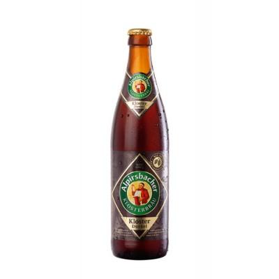 Bouteille de bière ALPIRSBACHER DUNKEL 5.2°