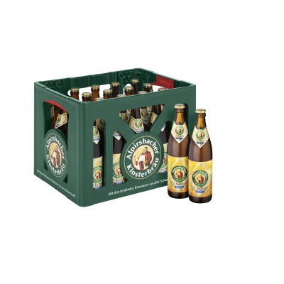 Bouteille de bière ALPIRSBACHER WEIZEN HEFE 5.2°