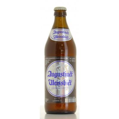 Bouteille de bière AUGUSTINER WEISSBIER 5.4°X 20
