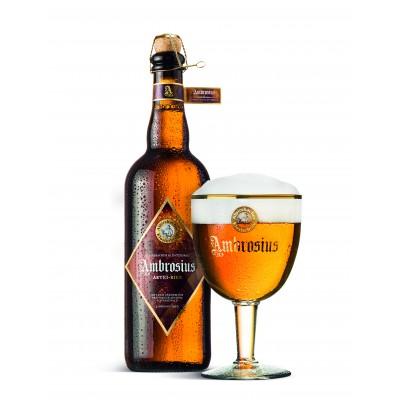 Bouteille de bière ALPIRSBACHER AMBROSIUS AB