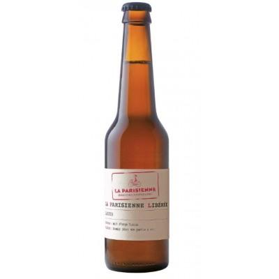 Bouteille de bière LA PARISIENNE LIBEREE LAGER 5° VP33CL