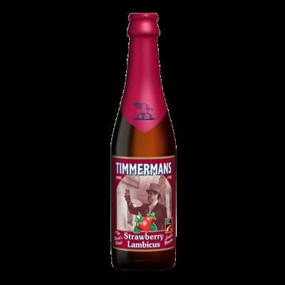 Bouteille de bière TIMMERMANS FRAISE 4°