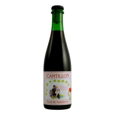 Bouteille de bière CANTILLON ROSE 5°