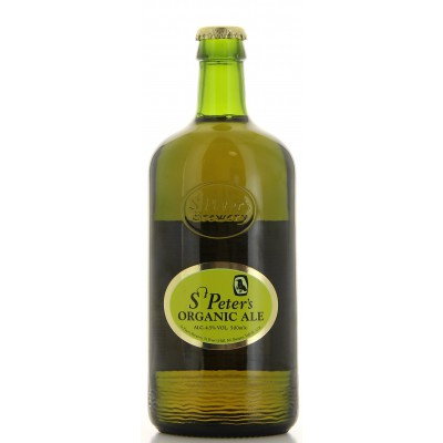 Bouteille de bière ST PETERS ORGANIC AL 4.5°