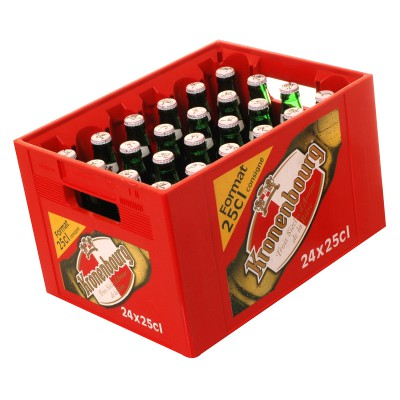 Bouteille de bière KRONENBOURG 4.2°