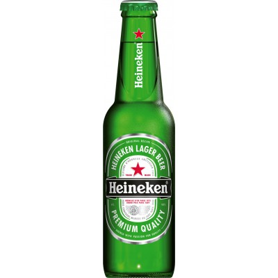 Bouteille de bière HEINEKEN 5°