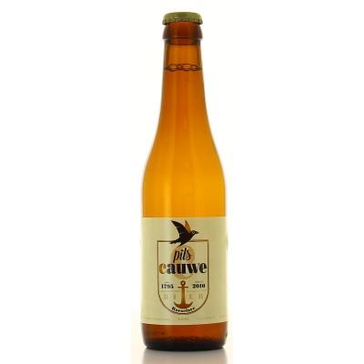 Bouteille de bière blonde Pils Cauwe 5° - 33cl