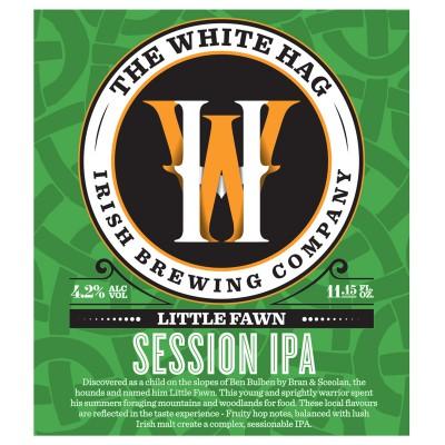 Bouteille de bière WHITE HAG LITTLE FAWN 4.2° VP33CL