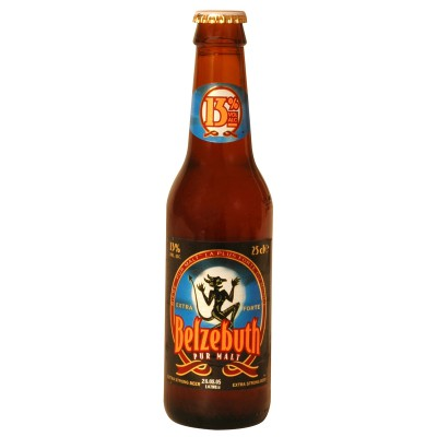 Bouteille de bière Belzebuth 25cl