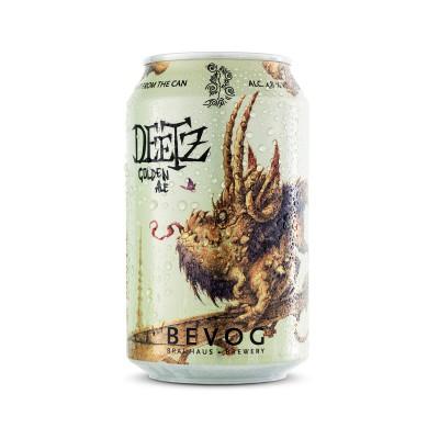 Bouteille de bière BEVOG DEETZ GOLDEN ALE BOITE 33CL 4.8°