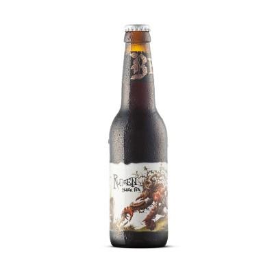 Bouteille de bière BEVOG RUDEEN BLACK IPA 7.4° 33
