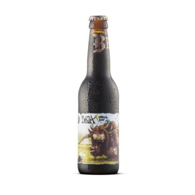 Bouteille de bière BEVOG BAJA OATMEAL STOUT 5.8° 33CL