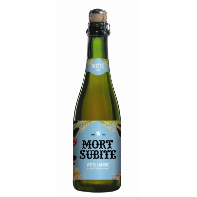 Bouteille de bière MORT SUBITE WITTE 5.5° VP37,5CL