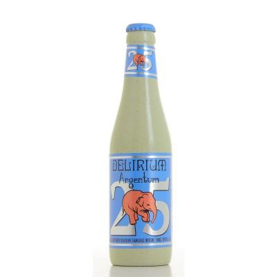 Bouteille de bière Delirium Argentum 33cl