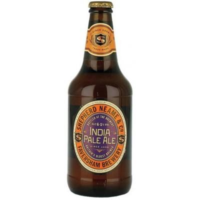 Bouteille de bière SHEPHERD NEAME IPA 6.1° 50CL