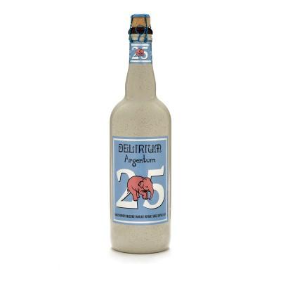 Bouteille de bière Delirium Argentum 75cl