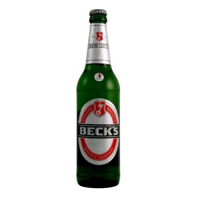 Bouteille de bière BECK S 33cl VP 5°