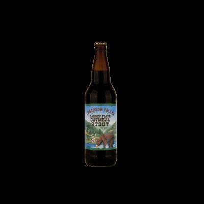 Bouteille de bière BARNEY FLATS OATMEAL STOUT 5.8°