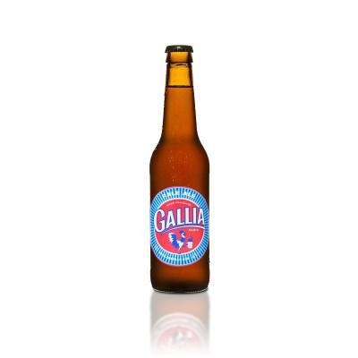Bouteille de bière GALLIA PALE ALE 4,7° VP33CL