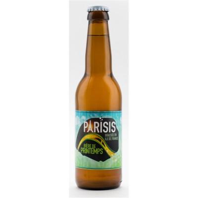 Bouteille de bière blonde Parisis Printemps 6° - 75cl
