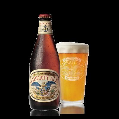 Bouteille de bière ANCHOR STEAM LIBERTY ALE 5.9°