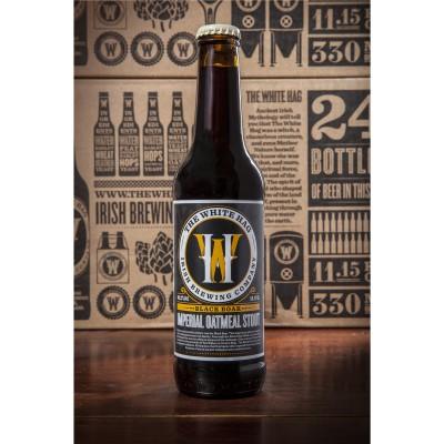 Bouteille de bière WHITE HAG BLACK BOAR 10.2° VP33